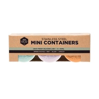 Stainless Steel Containers Mini