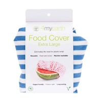 Food Cover - Denim Stripe