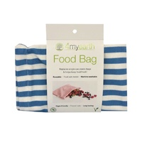 Food Bag - Denim Stripe