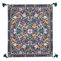Canvas Picnic Rug Emerald Forest