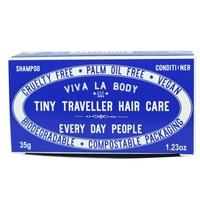 Tiny Traveller Solid Shampoo and Conditioner Bar Every Day People