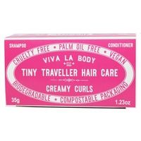Tiny Traveller Solid Shampoo and Conditioner Bar Creamy Curls