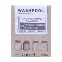 All In One Shampoo, Shower & Shave Bar Patchouli, Cinnamon & Ylang