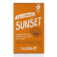 Coconut Soap Bar Sunset