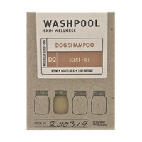Dog Shampoo Soap Bar Scent Free